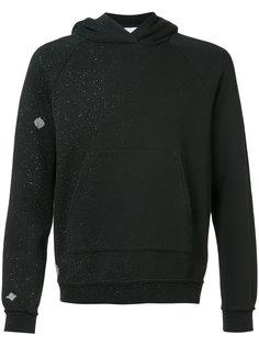 speackle-print hooded sweatshirt John Elliott