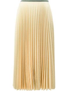 плиссированная юбка Céline