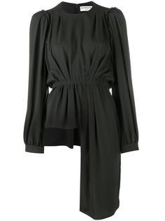 блузка асимметричного кроя Balenciaga