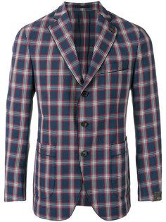 checked blazer  Gabriele Pasini