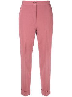брюки с отворотами Bottega Veneta