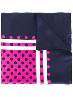 шелковый платок с узором Mp  Massimo Piombo