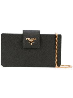 сумка через плечо на цепочке Prada