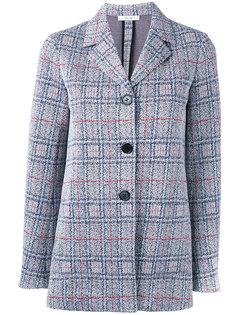 твидовый пиджак на пуговицах Céline