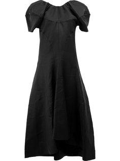 платье с пышными рукавами  Céline