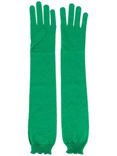 длинные перчатки Rochas