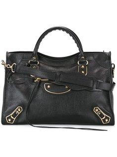 сумка-тоут с золотистой фурнитурой Balenciaga