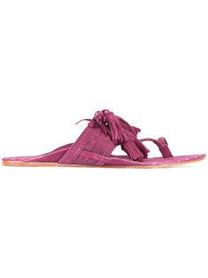 Scaramouche sandals Figue