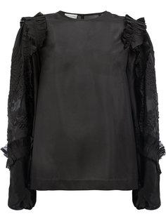 блузка с оборками  Dries Van Noten