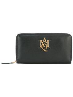 кошелек с круговой застежкой-молнией Insignia  Alexander McQueen