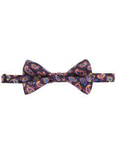 """галстук-бабочка с принтом """"пейсли"""" Etro"""
