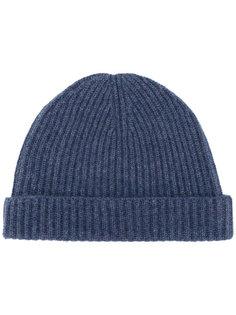 шапка-бини в рубчик N.Peal