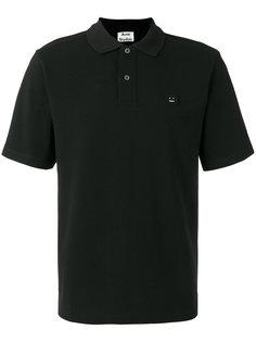 рубашка-поло с нашивкой на груди Acne Studios