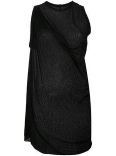 draped sleeveless top Rick Owens Lilies