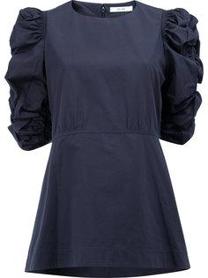 блузка с оборками  Céline