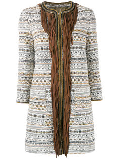 fringed trim coat  Bazar Deluxe