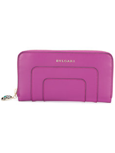 zip around purse Bulgari