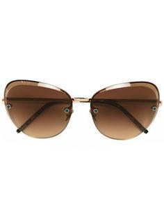 объемные солнцезащитные очки Pomellato