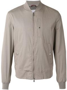 куртка-бомбер  с кнопками на карманах Brunello Cucinelli