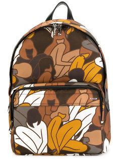 рюкзак с цветочным принтом Bally