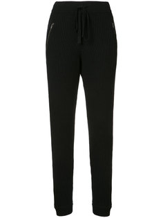 rib knit trousers Baja East