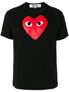 футболка с принтом сердца Comme Des Garçons Play
