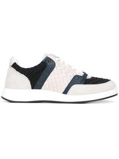 кроссовки с плетеным дизайном Bottega Veneta