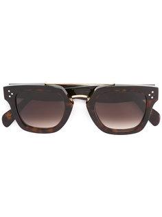 солнцезащитные очки в квадратной оправе Céline