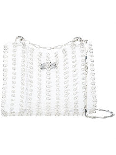 metal ring detail shoulder bag Paco Rabanne