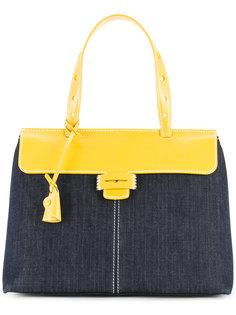 colour block tote bag Myriam Schaefer