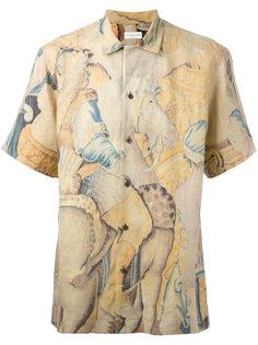 рубашка с короткими рукавами Dries Van Noten
