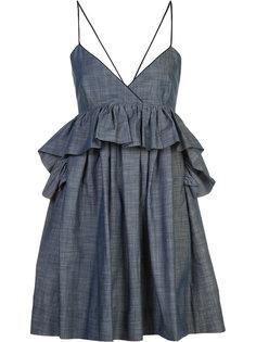 Alessandra ruffled babydoll dress Piamita