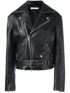 байкерская куртка с поясом Céline