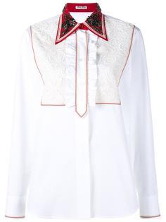 декорированная  блузка  Miu Miu