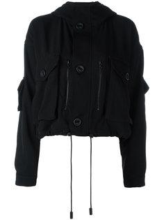 укороченная куртка в стиле милитари  Acne Studios