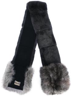 Rex and fox fur scarf N.Peal