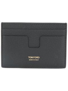 визитница с принтом-логотипом Tom Ford