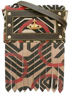 Сумка через плечо с геометрическим принтом Vivienne Westwood