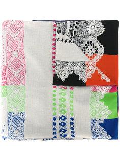 woven pattern scarf  Pierre-Louis Mascia