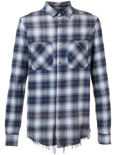 plaid shirt Amiri