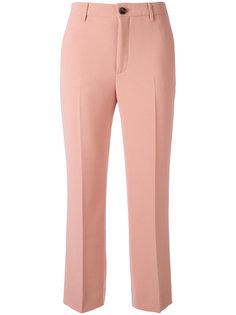 укороченные расклешенные брюки Miu Miu