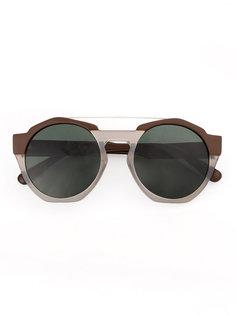 солнцезащитные очки в круглой оправе Marni