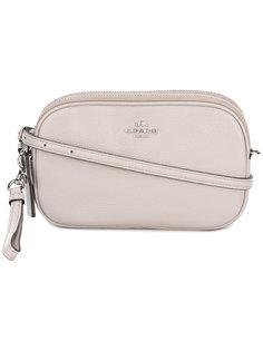 сумка через плечо с бляшкой с логотипом Coach