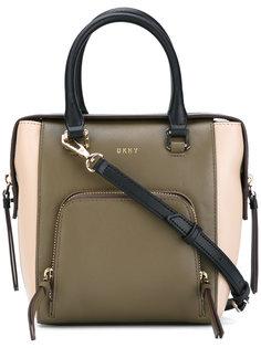 сумка через плечо с контрастной отделкой  DKNY