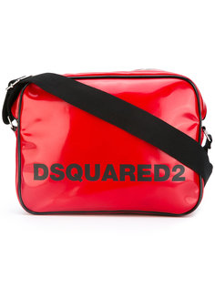 сумка-мессенджер с логотипом Dsquared2