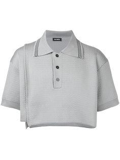 укороченная рубашка-поло Raf Simons