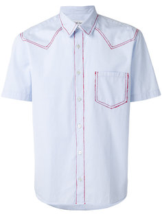 red stitching shirt Jimi Roos