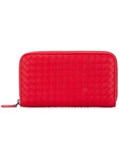 кошелек с плетеным дизайном  Bottega Veneta