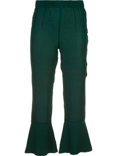 Pandora flare hem cropped trousers Piamita