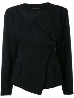 collarless deconstructed jacket Yohji Yamamoto Vintage